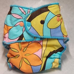 Windpro Fitted Cloth Diaper Cover-Boho